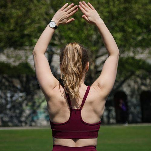 Starker & gesunder Rücken ©happyveganfit (Pixabay)