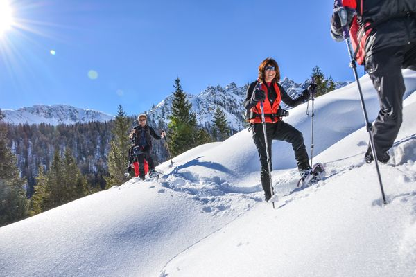 Snowshoeing in the Wipptal | © TVB Wipptal