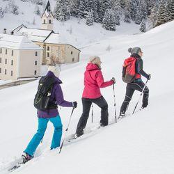 Snowshoeing in Tyrol | © TVB Wipptal
