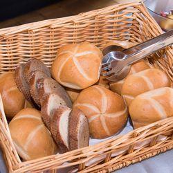 Daily fresh bread for breakfast