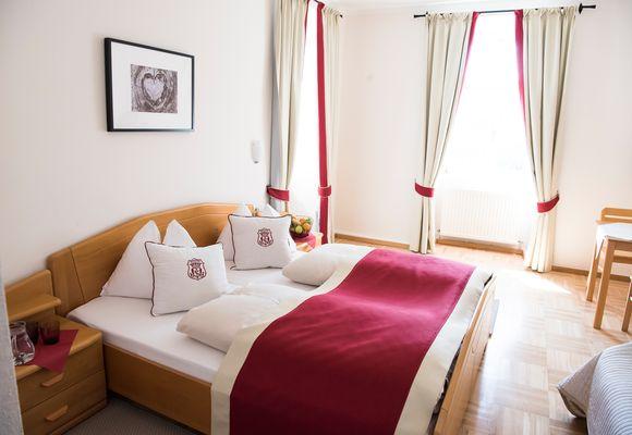 Doppelzimmer für 2 bis 3 Personen