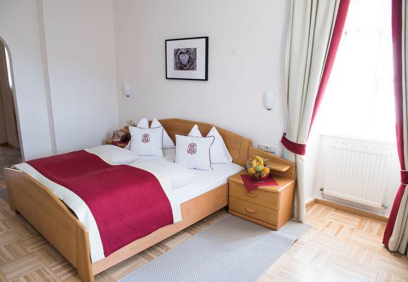 Double room in the monastery inn