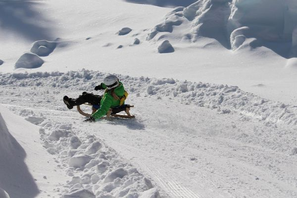 Tobogganing in the Wipptal | © TVB Wipptal
