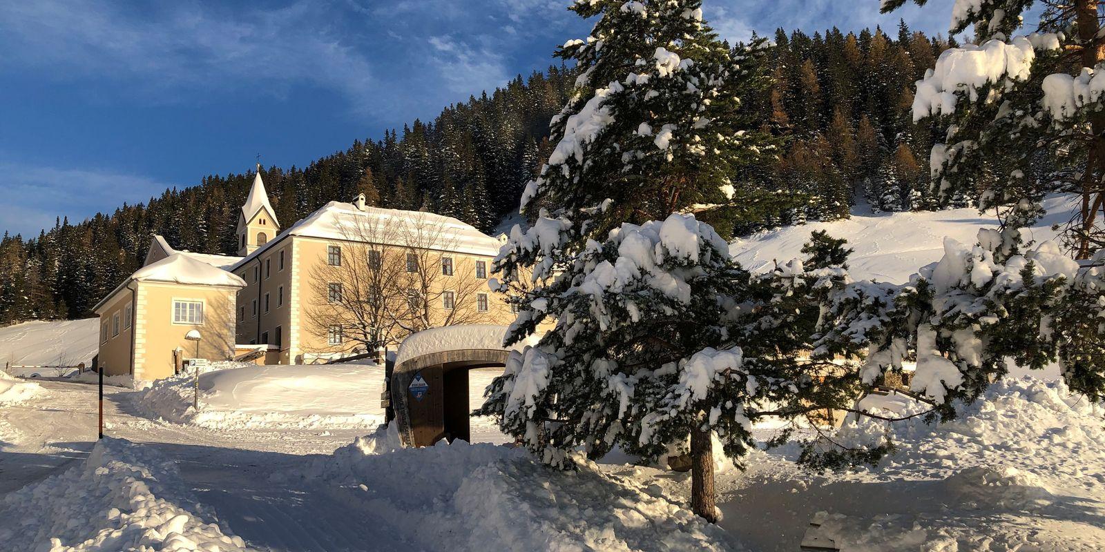 Das Waldrast Natur Resort im Winter