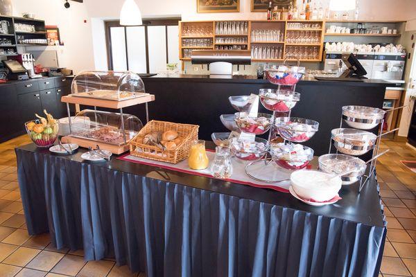 Frühstücken im Klostergasthof