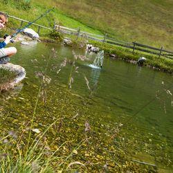 Fishing near the monastery